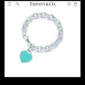 Tiffany & Co Return to Tiffany & Co heart braclet